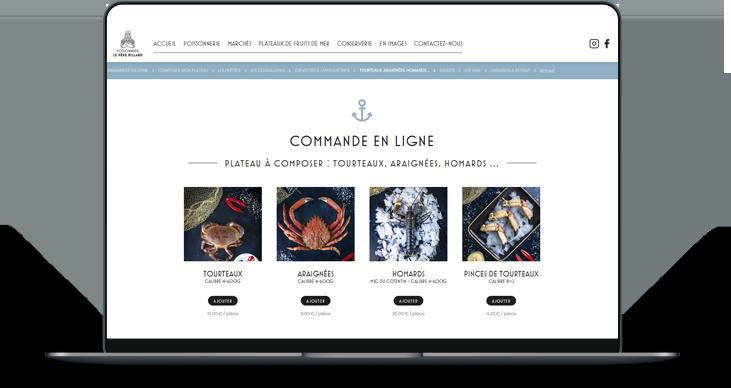 Plateaux de fruits de mer en ligne à Saint-Malo